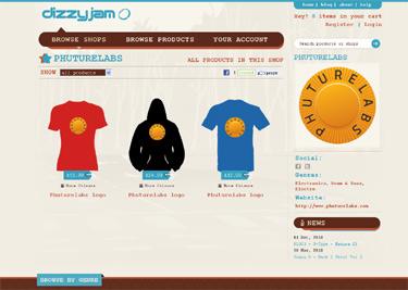Phuturelabs at Dizzyjam - smaller