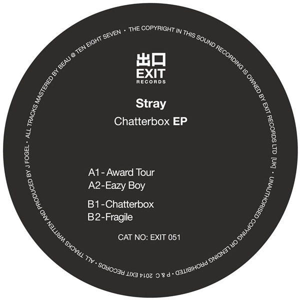Stray - Chatterbox EP - artwork