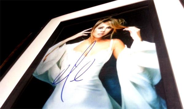 Signed photo of Mariah Carey