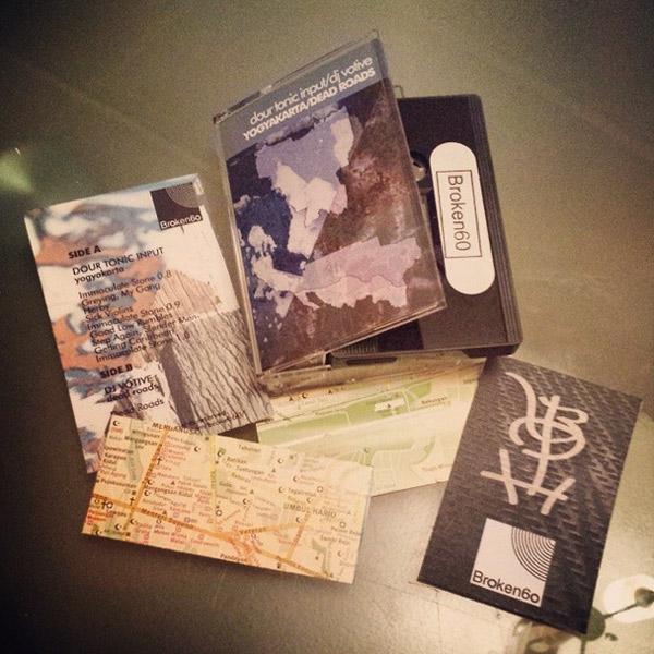 Dour Tonic Input / DJ Votive - Yagyakarta / Dead Roads - cassette tape